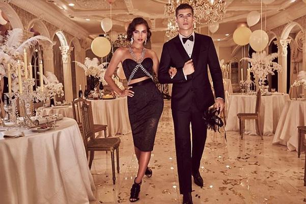 Королева вечеринок: Ирина Шейк блистает в роскошной фотосессии для модного бренда