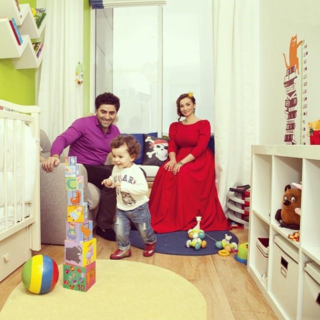 Анфиса Чехова муж сын квартира фото