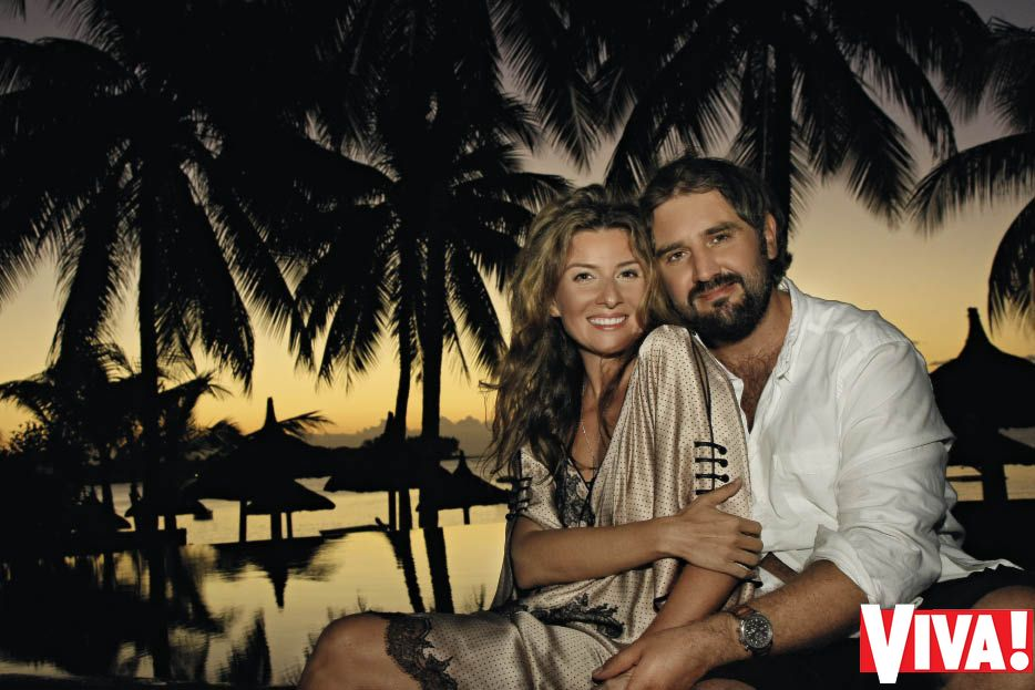 Жанна Бадоева и ее новый муж Василий Мельничин