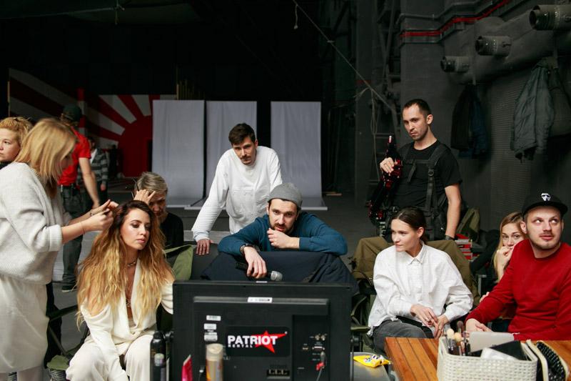На стиле: фото со съемок нового клипа Время и Стекло