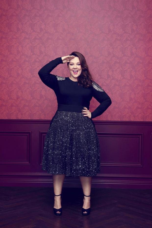 Мелисса МакКарти похудела на 20 килограммов