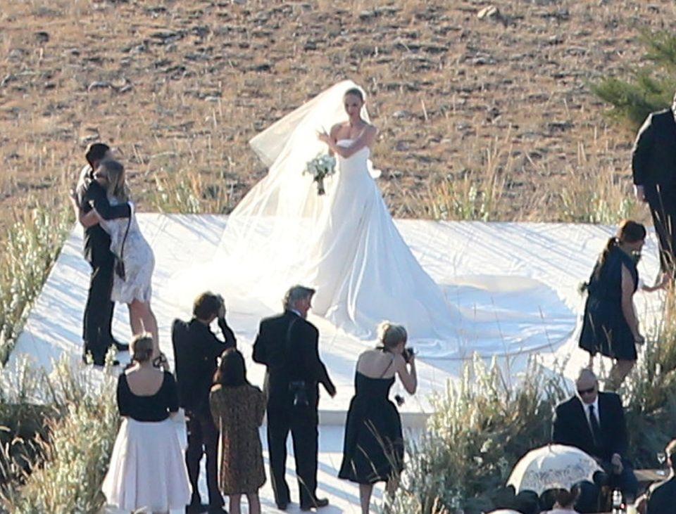Кейт Босуорт свадебное фото