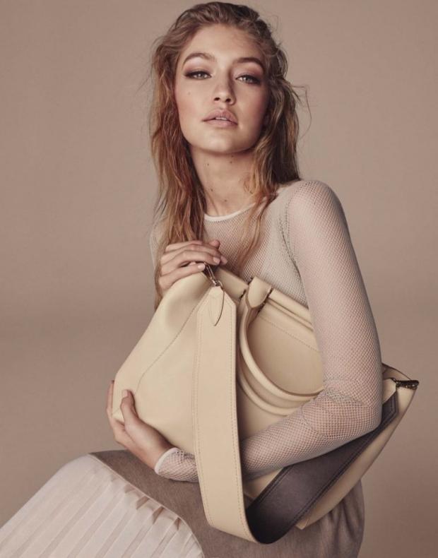 Джиджи Хадид снялась в роскошной рекламной кампании итальянского бренда