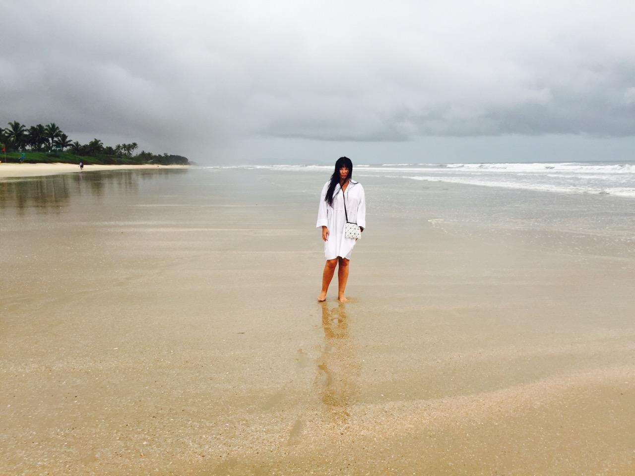 Ассия Ахат с семьей провела королевский отпуск в Индии