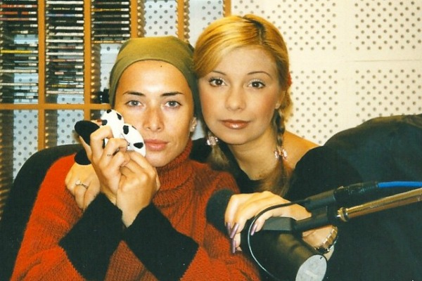 Жанна Фриске с подругой Ольгой Орловой