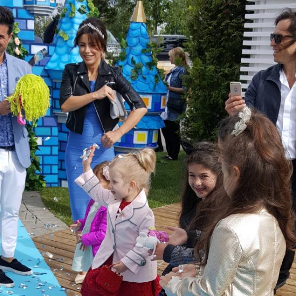 Ани Лорак устроила сказочный день рождения дочери