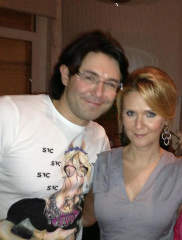 Андрей Малахов с женой Натальей Шкулевой 2013