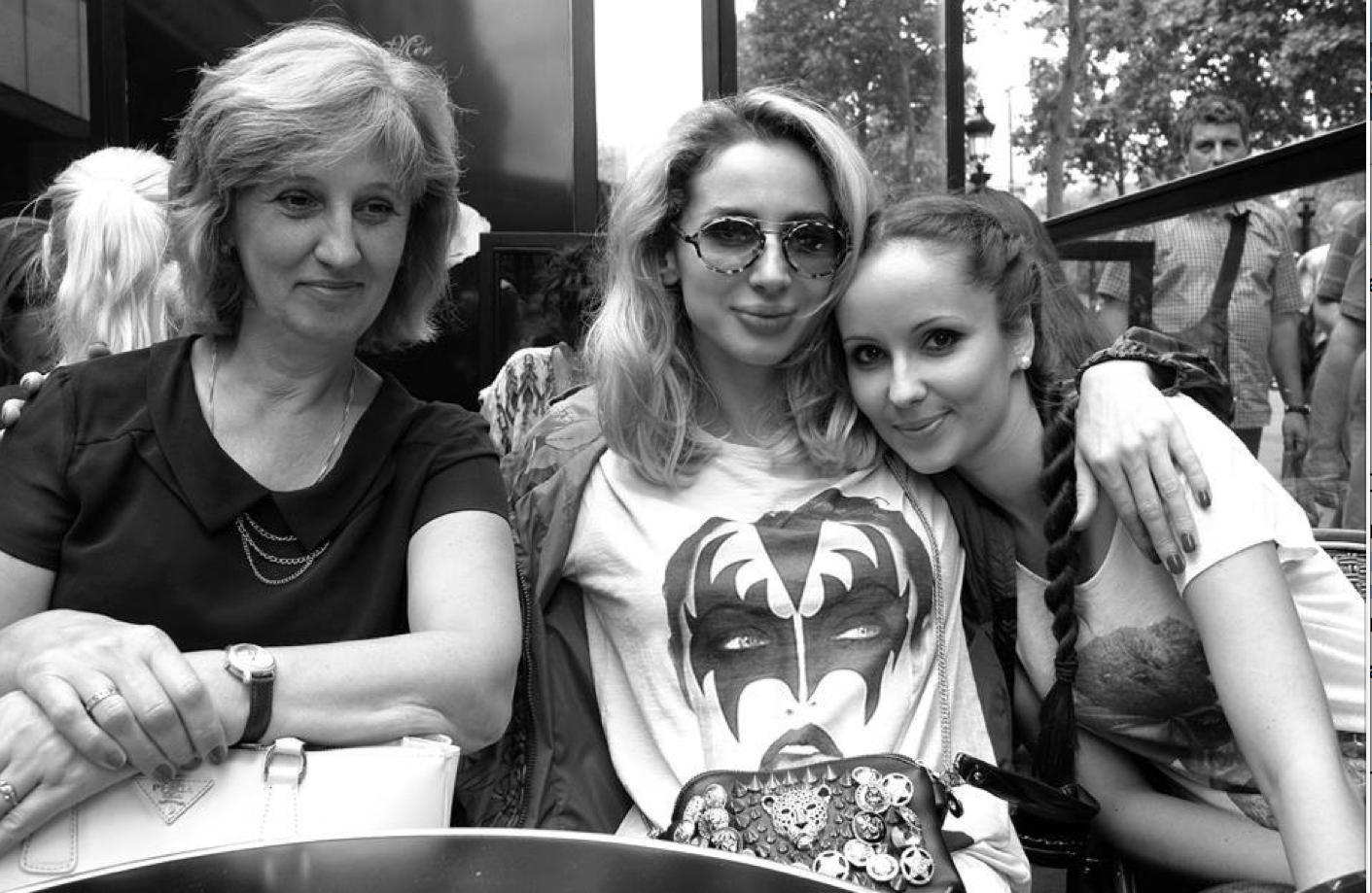 Светлана Лобода и ее сестра Ксения