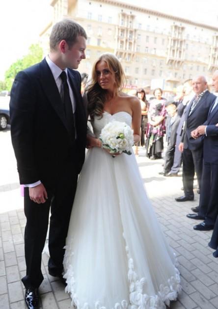 Сын Федора Бондарчука с женой Татой