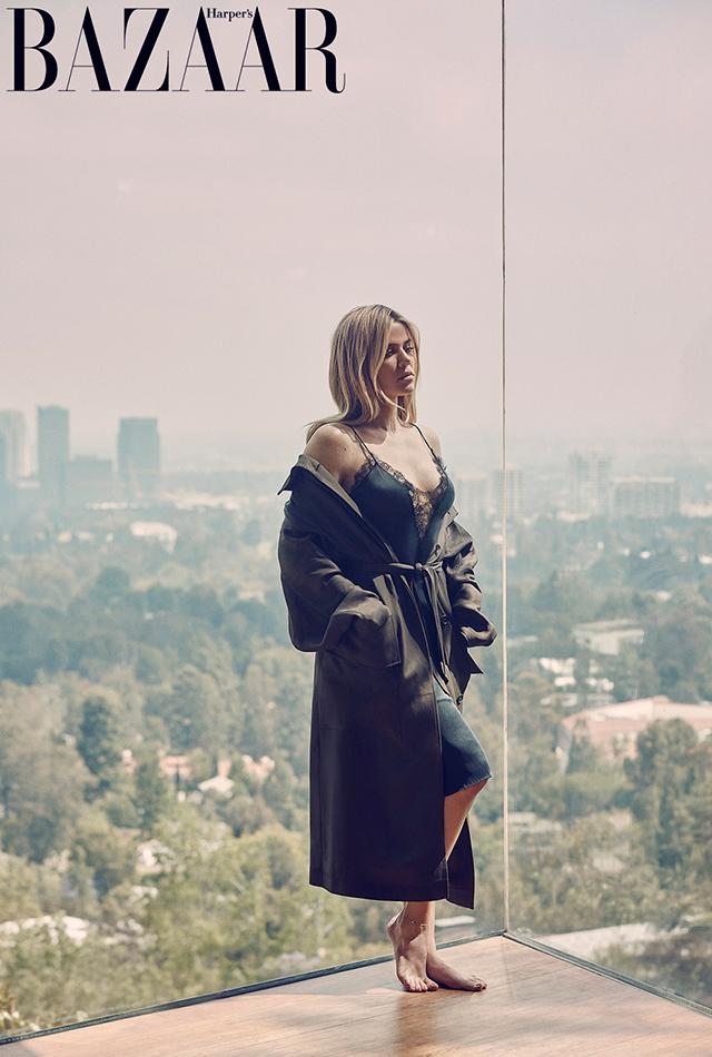Хлое Кардашьян блистает в элегантной фотосессии для Harper's Bazaar