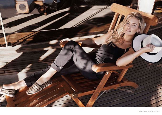 Жизнерадостная и активная Кейт Хадсон похвасталась стройной фигурой