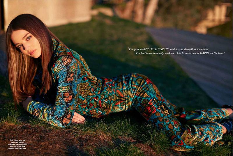 Нежная и прекрасная: Миранда Керр украсила обложку Harper's Bazaar
