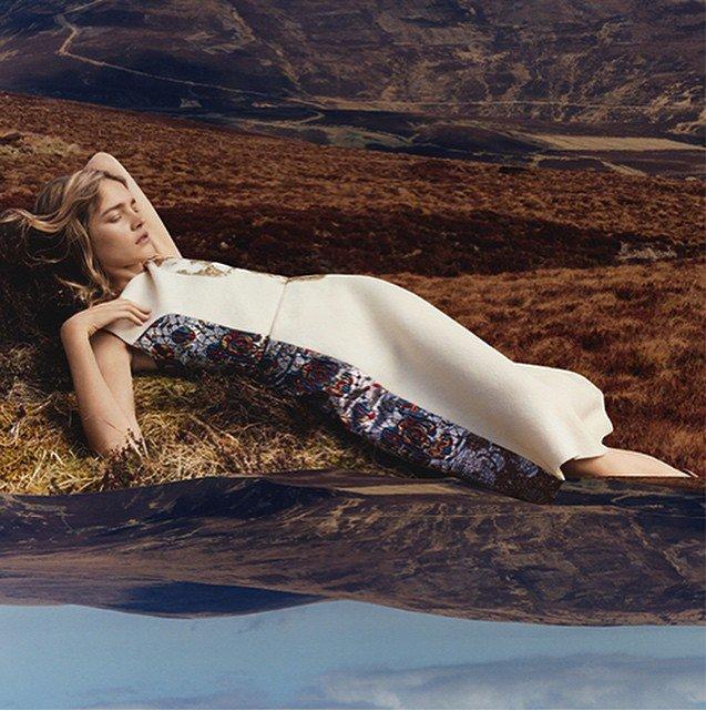 Удивительная красота: Наталья Водянова позирует в Шотландии