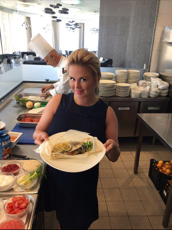 Анна Семенович поделилась рецептом своего кулинарного шедевра