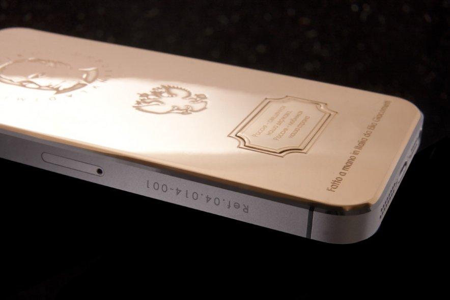 Охлобыстин купил золотой iPhone с изображением Путина