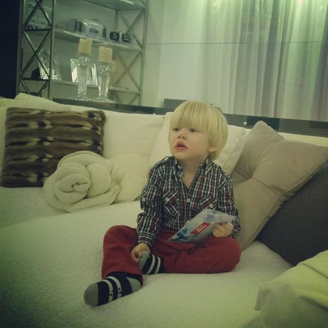 Маша Малиновская фото сын