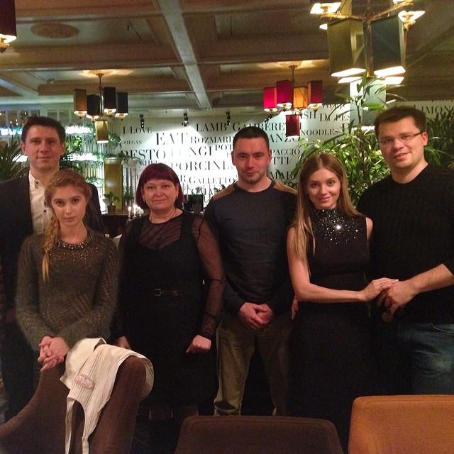 Гарик Харламов и Кристина Асмус крестили дочь фото