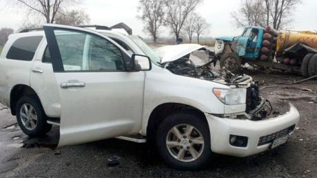 В сети появились фото с места аварии, в которой умер Кузьма Скрябин