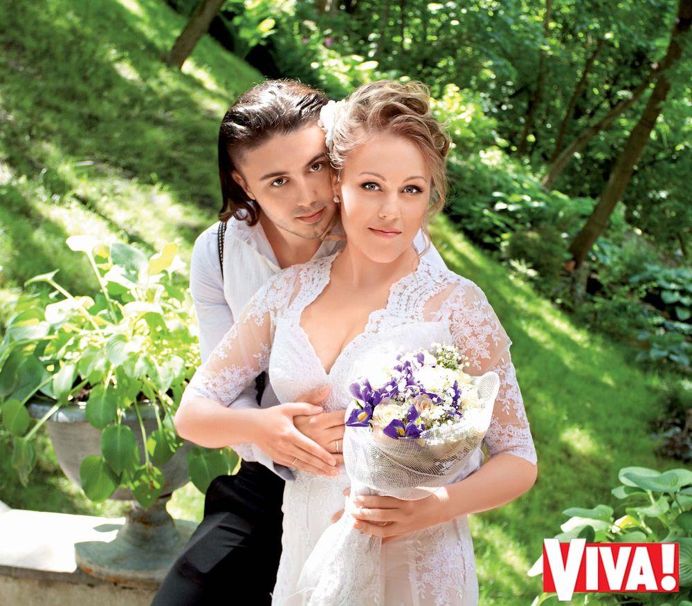 Alyosha и ее супруг Тарас Тополя