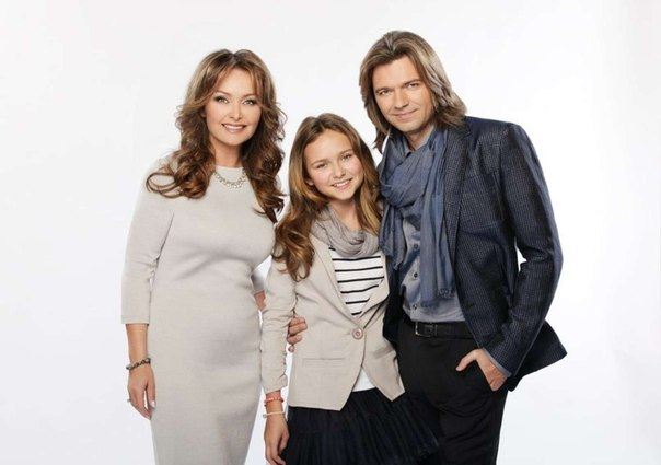 Дмитрий Маликов с женой и дочерью фото