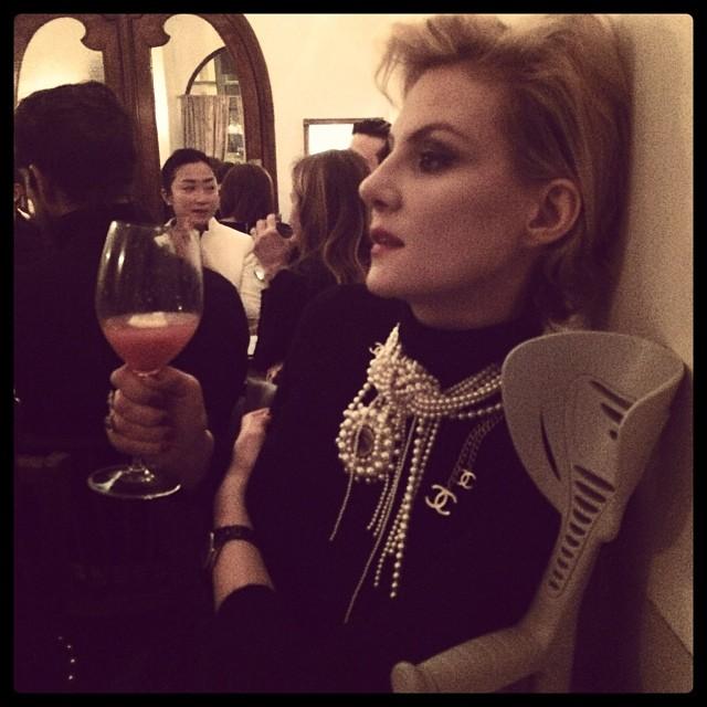 Рената Литвинова фото инстаграм париж 2014
