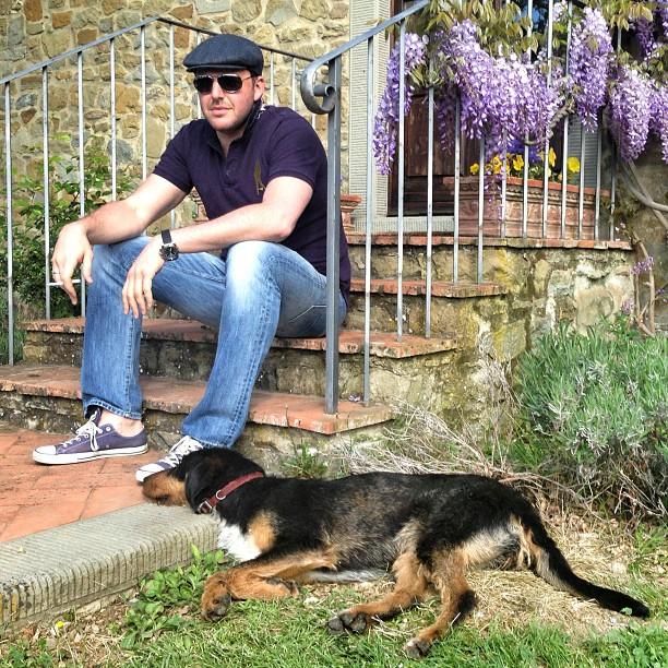 Максим Виторган и Ксения Собчак на отдыхе в Италии