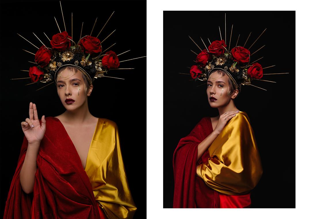 Ужас, как красиво: украинские звезды стали монстрами в новой фотосессии