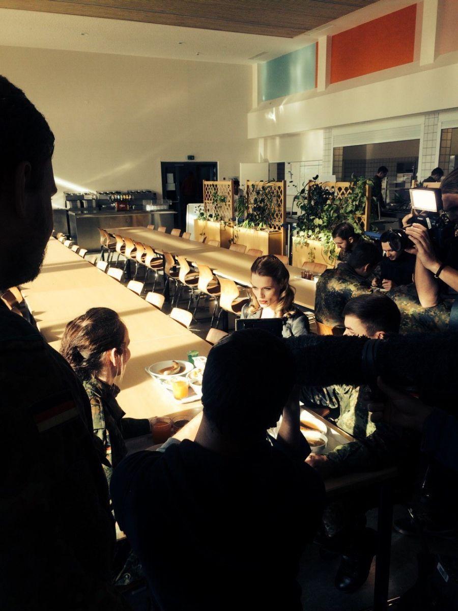 Ольга Фреймут провела инспекцию на военной базе НАТО