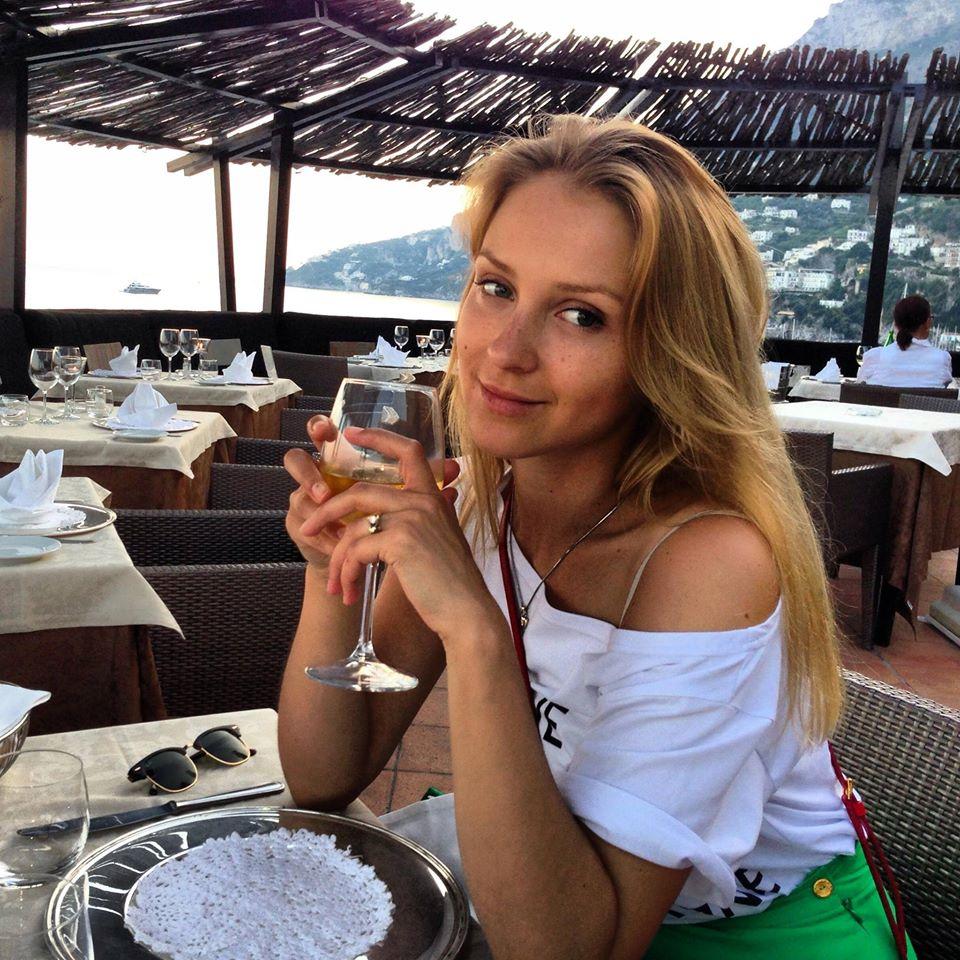 жена Сергея Притулы Екатерина Сопельник