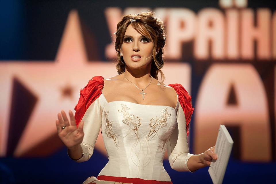 Оксана Марченко платье Україна має талант 5 победитель