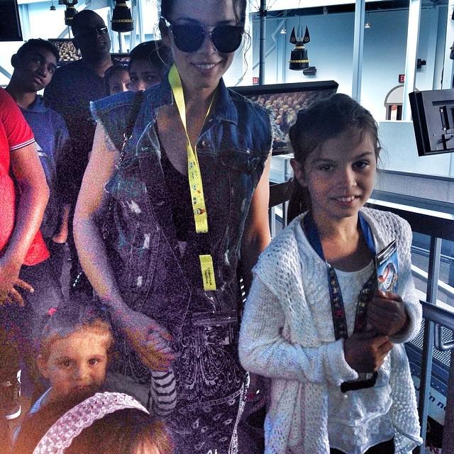 Анна Седокова и ее дочери