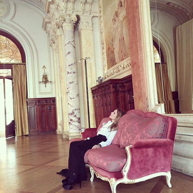 Ольга Фреймут снялась в откровенной фотосессии для Vogue