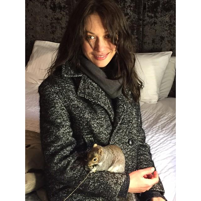 Ольга Куриленко впервые стала мамой