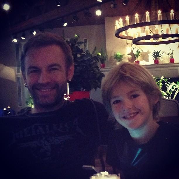 сын и бывший муж Ирины Дубцовой