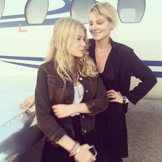 Рената Литвинова показала подросшую красавицу-дочь