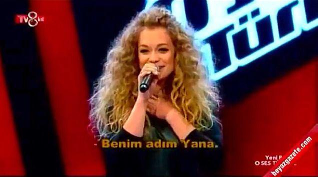 Яна Соломко сразила жюри шоу Голос страны в Турции потрясающим вокалом