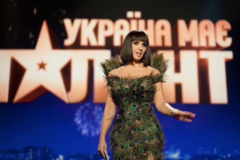 Оксана Марченко платья новые фото 2013