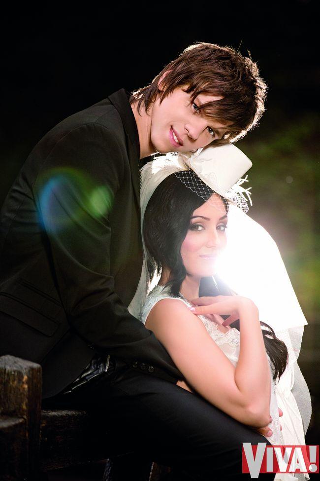 Александр Лещенко и Лина Верес свадьба фото журнал вива Viva