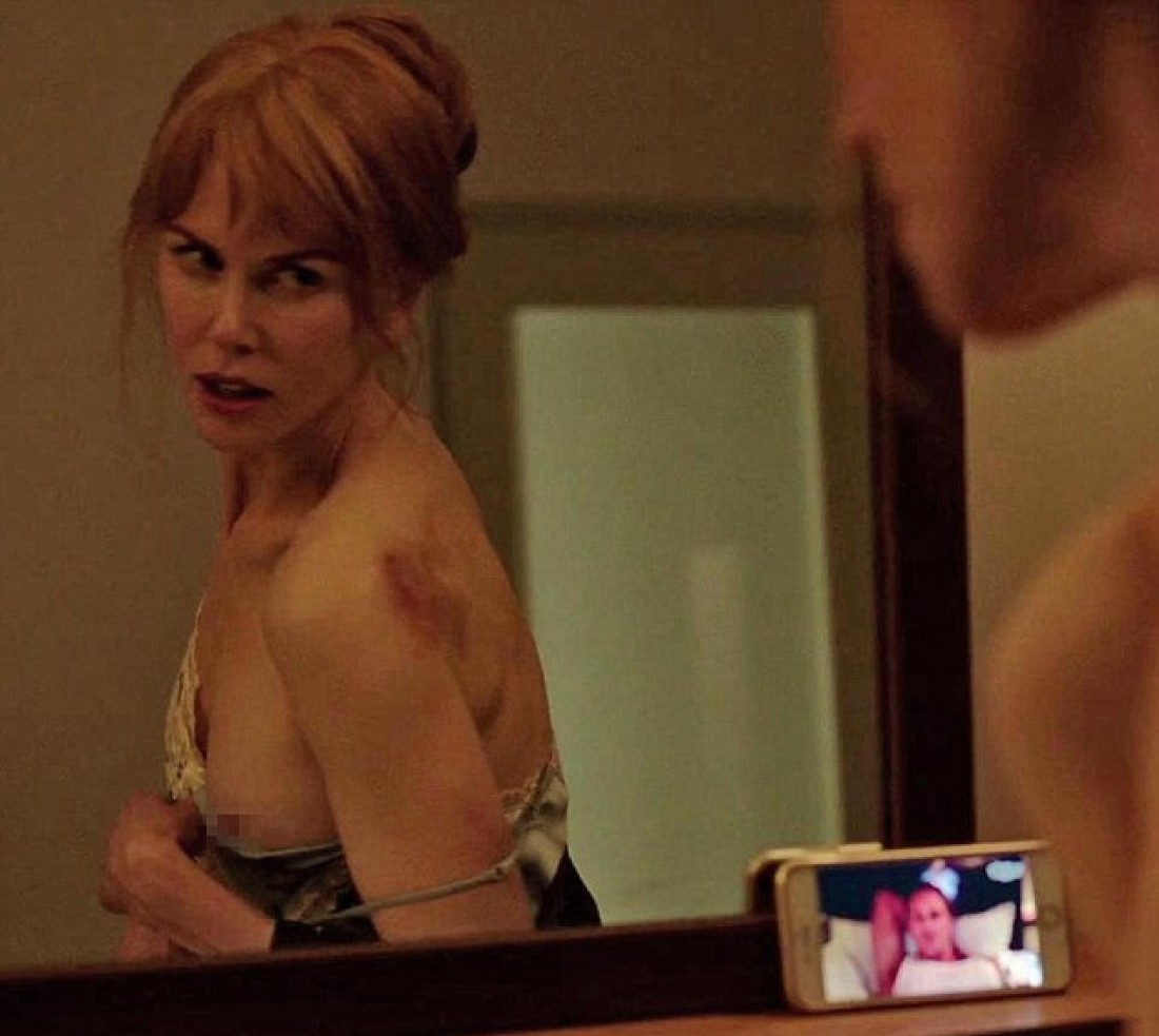 Николь Кидман полностью разделась во время съемок в мини-сериале
