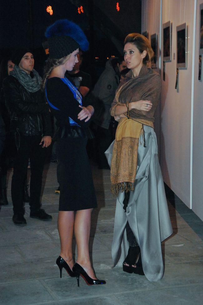 Алена Винницкая презентовала свою первую фотовыставку