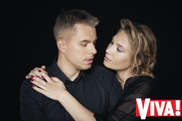 Андрей Доманский и его жена Марина в фотосессии Viva!