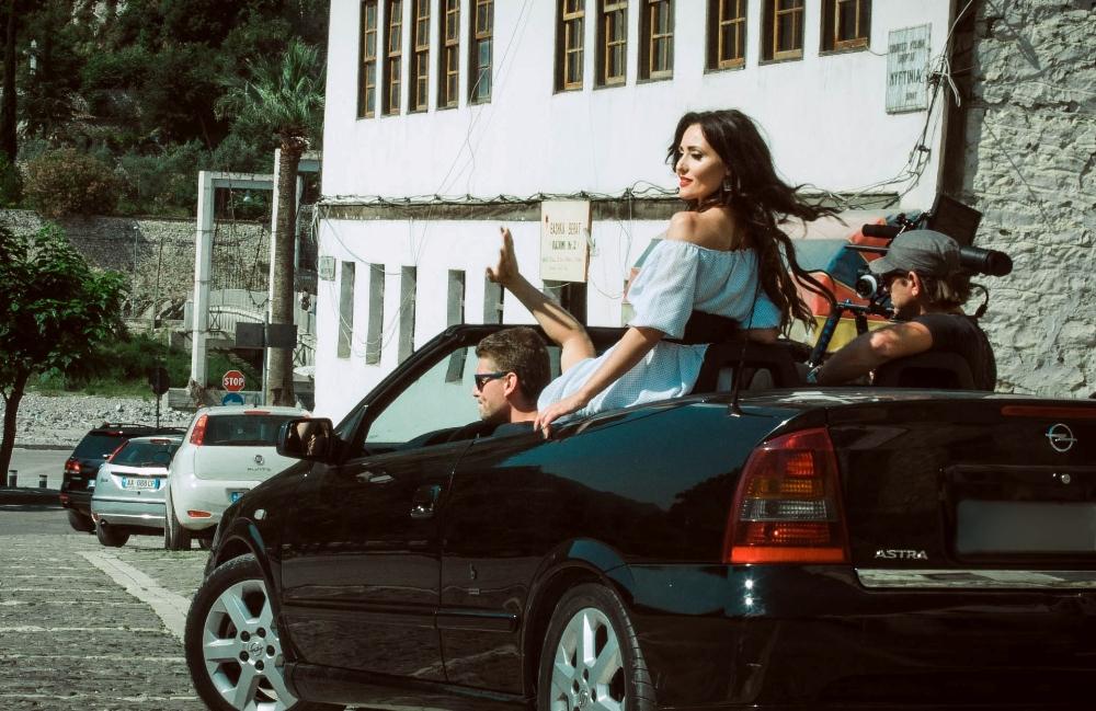Анна Добрыднева в Албании