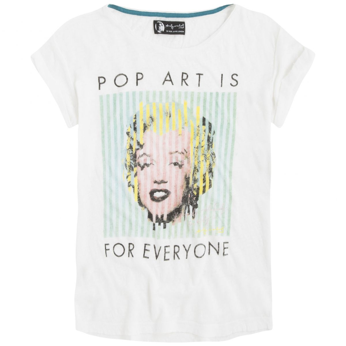 Andy Warhol by Pepe Jeans London