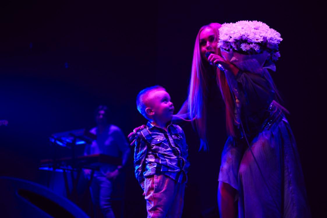 Alyosha с сыном Ромой
