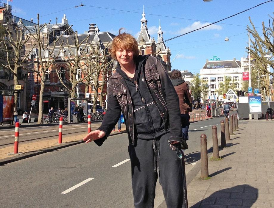 Андрей Григорьев Апполонов в Амстердаме