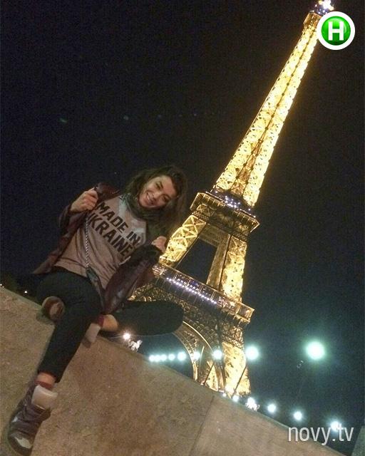 Экс-солистка Real O отметила день рождения в Париже