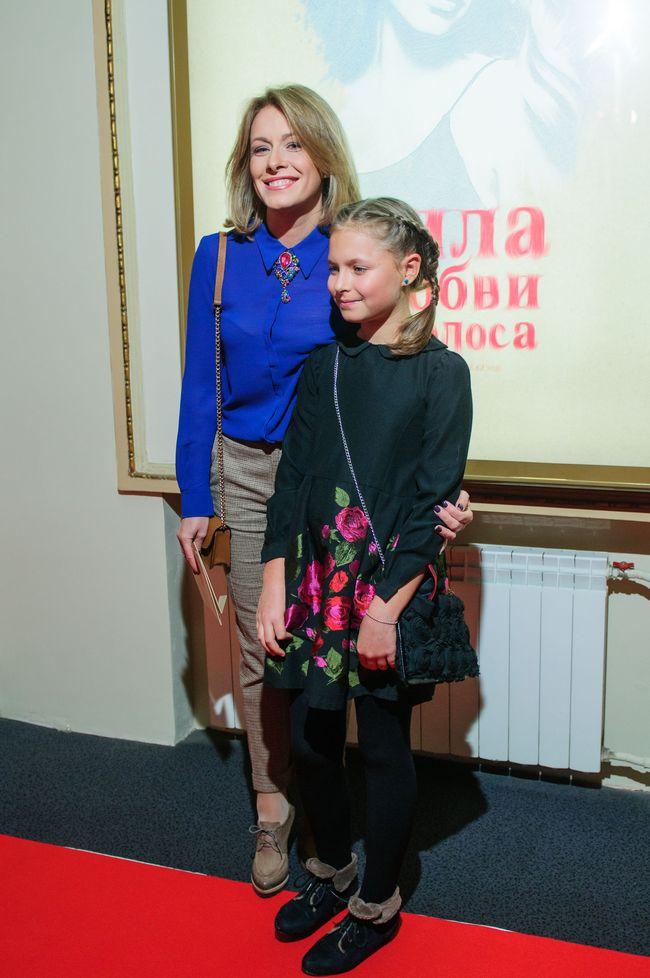 Елена Кравец с дочерью