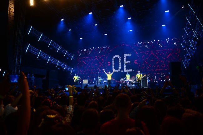 концерт группы Океан Ельзи в День независимости Украины