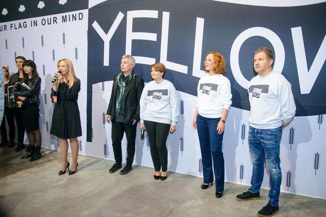 Ukrainian Fashion Week: ведущие Юрий Горбунов и Юлия Бориско приняли участие в благотворительной fashion-акции