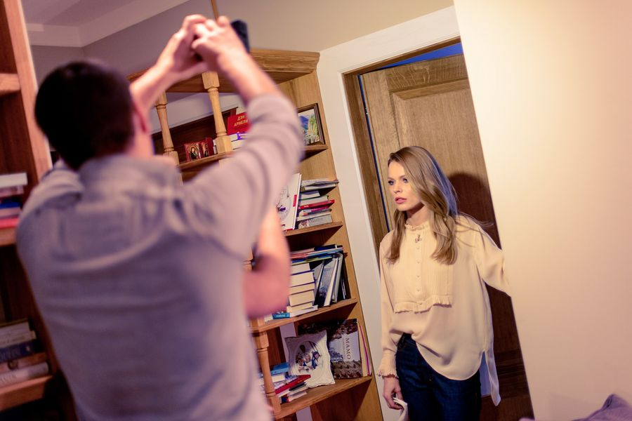 Ольга Фреймут показала свою квартиру в Киеве